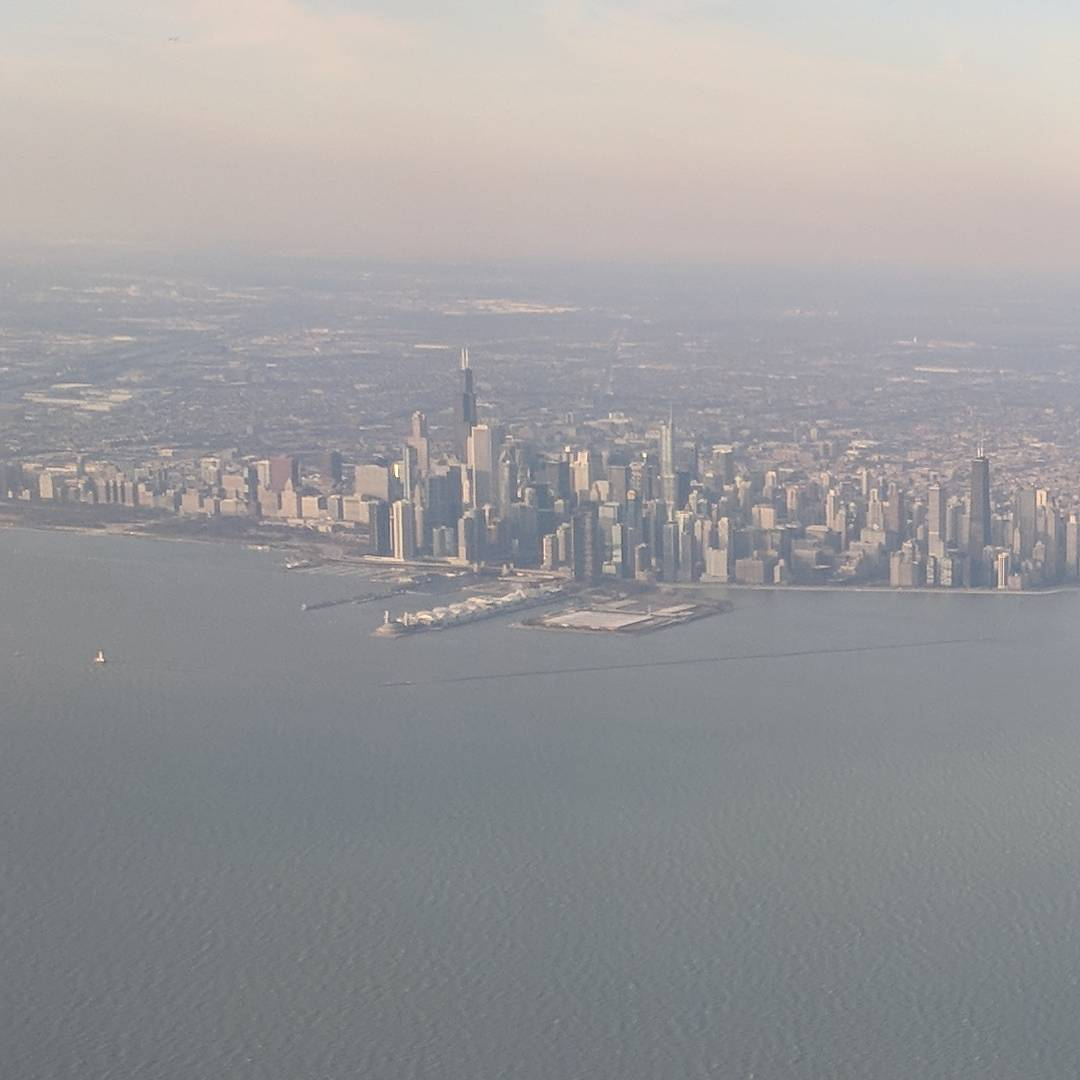 Hello Chicago. Not going to see you tonight… Will be back tomorrow…