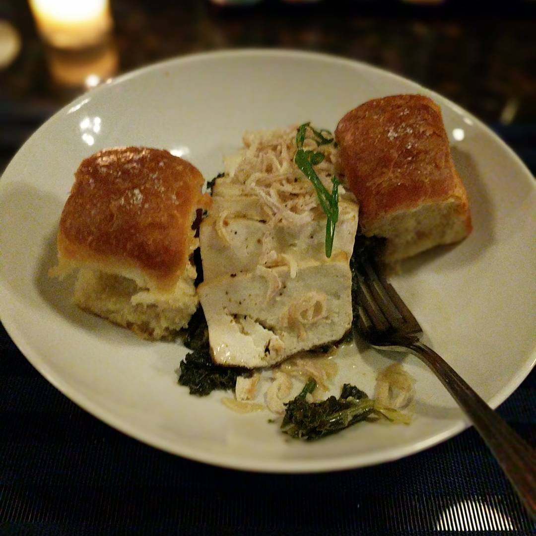 Can report that the Smoked Tofu at The Rieger is really tasty…