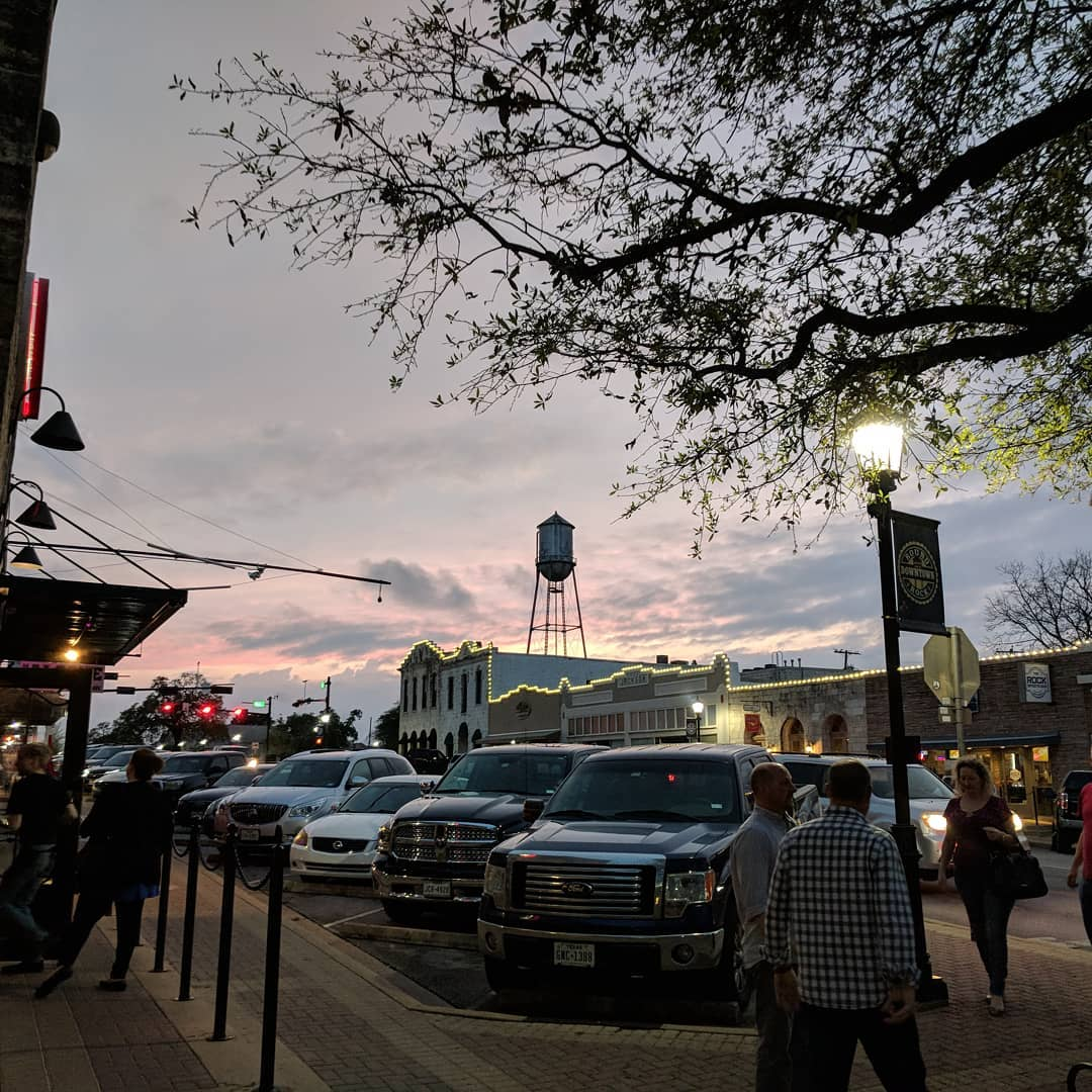 Downtown Round Rock, Texas