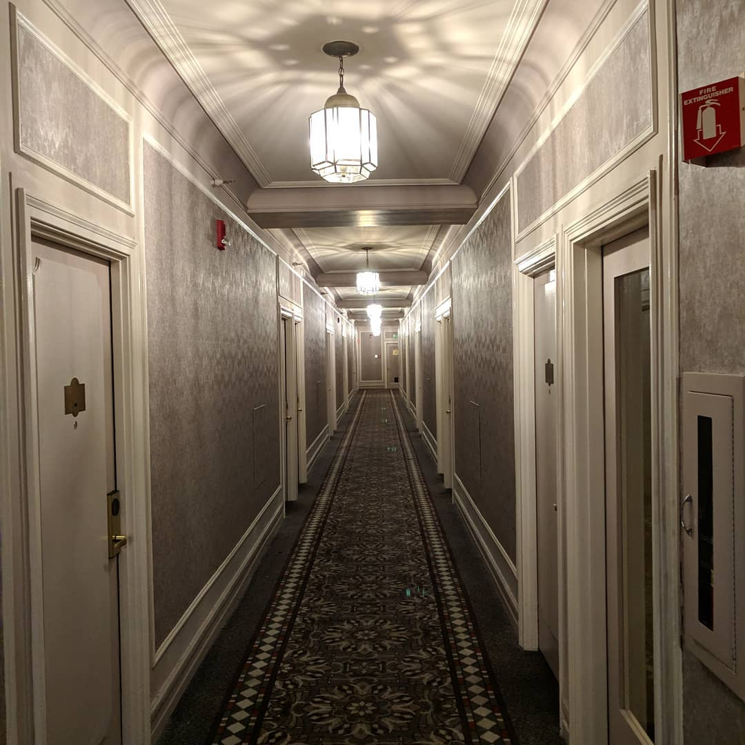 Sort of getting a Shining vibe from this hotel… But I kinda like it..