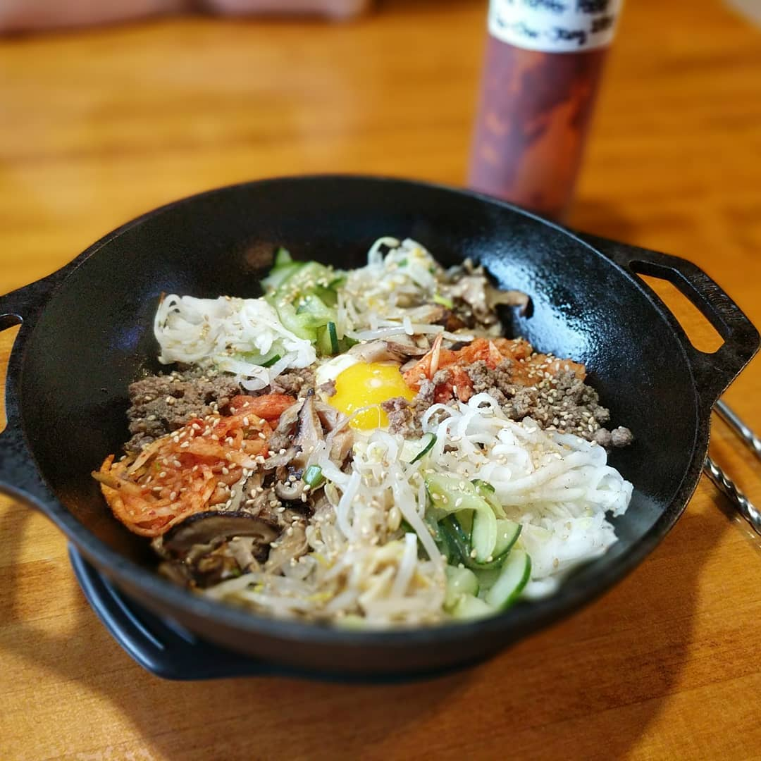 Korean food for dinner #foodporn