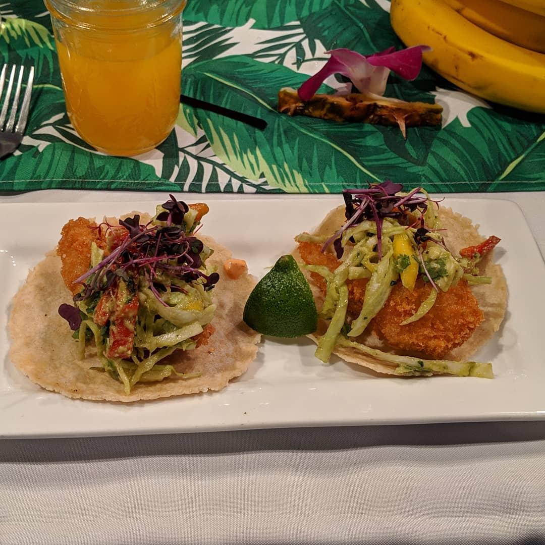 Monkfish tacos #craftedstl #foodporn