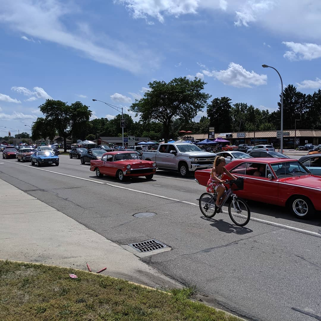 More Detroit traffic #woodwarddreamcruise
