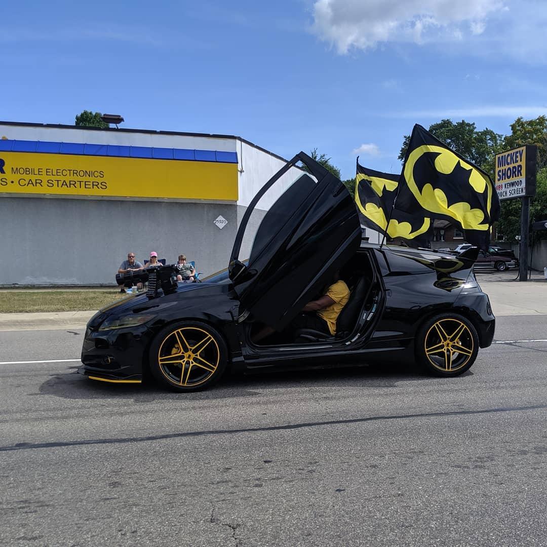 No, HE's Batman… #woodwarddreamcruise