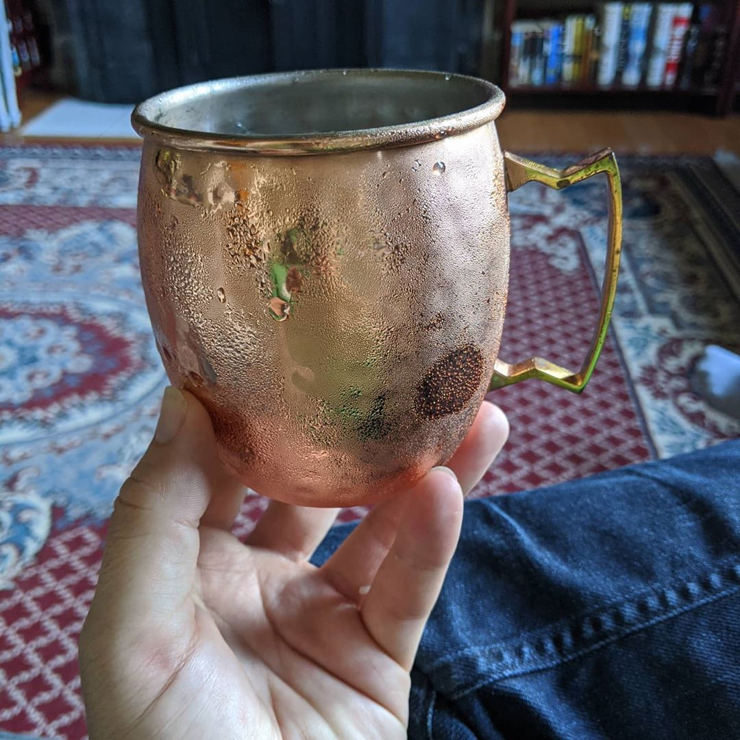 The Moscow mule was made for St. Louis summers… #citylife #stlouis