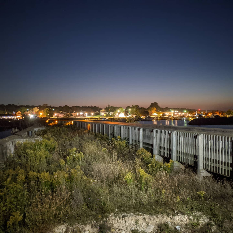 We all need some evening scenery I think... #upperpeninsula #roadtrip #michigan