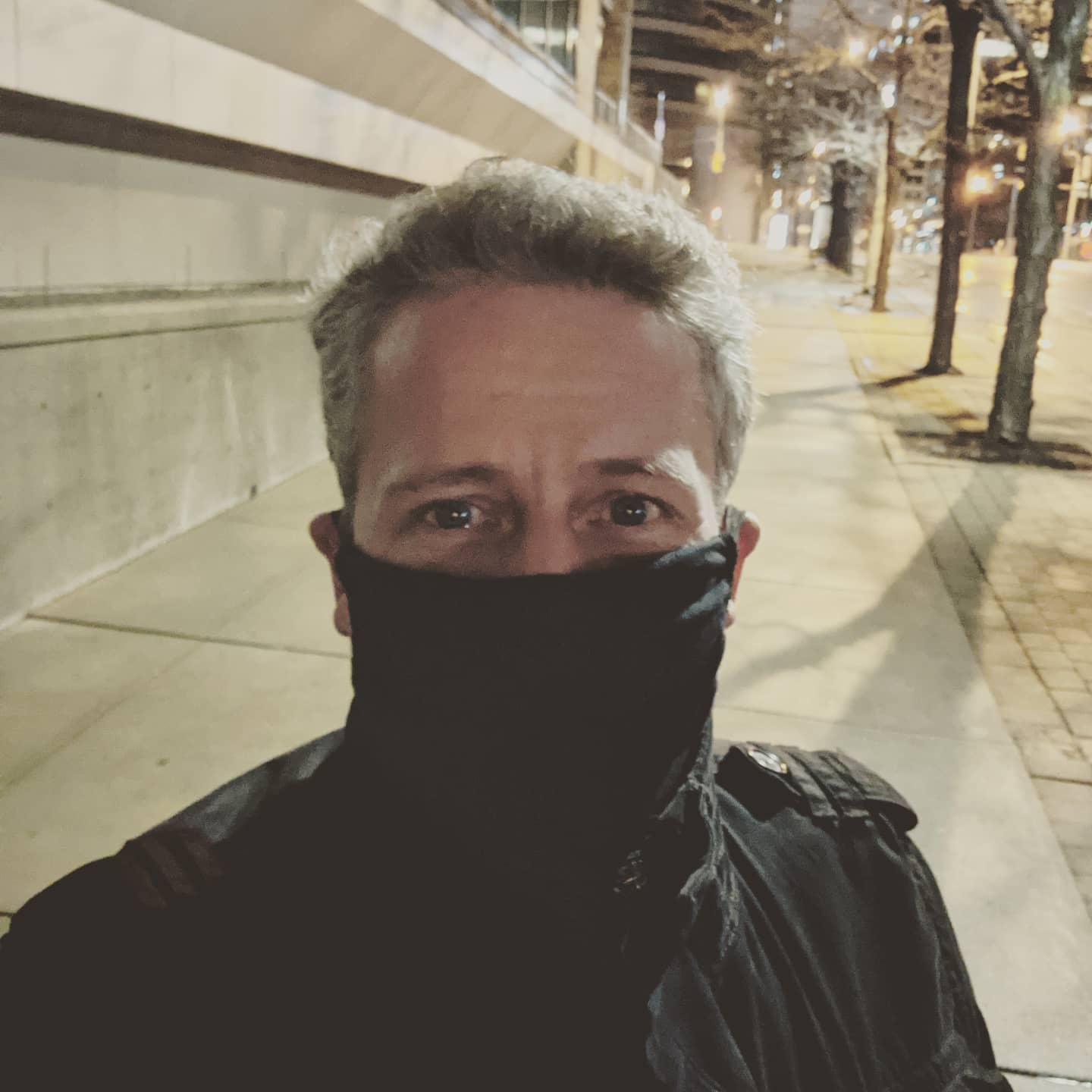 I suspect we will hear far less complaining about masks as we head into winter and people start to realize that masks keep your face warm! Mmmmm, #toasty #wearthedamnmask #wearthemask