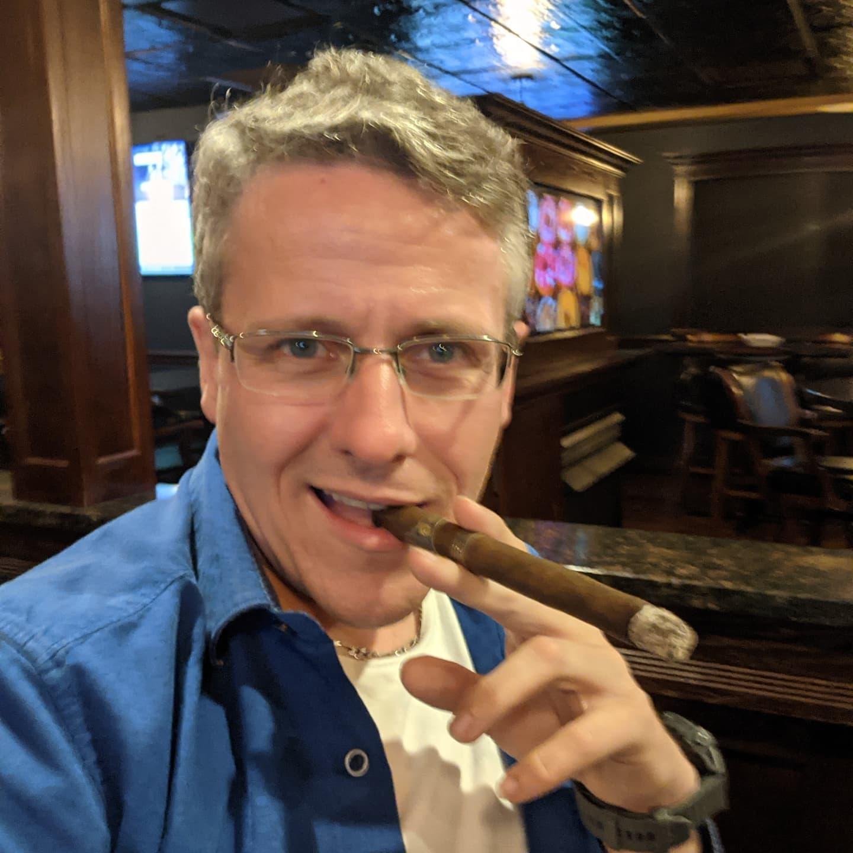 A terrible habit, but dessert #2. #cigar