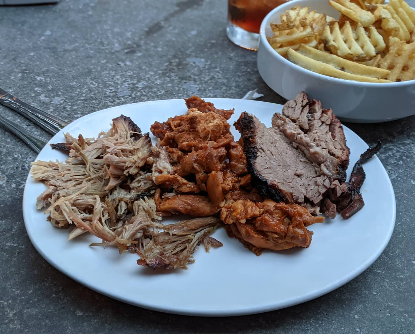 And while I might not be watching the Rolling Stones in concert tonight, I *am* enjoying some seriously good barbecue #slowsbbq #detroit #foodporn